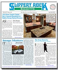 Download the September 2015 issue of Slippery Rock Gazette in PDF format