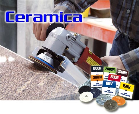 Alpha® Ceramica pads were revolutionary inventions for the time. Resin pads are now a staple tool in stone shops across the country.