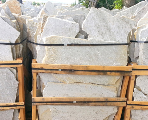 White Mist Rocky Mountain Quartzite flagstone