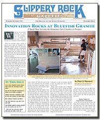 Download the October 2012 issue of Slippery Rock Gazette in PDF format