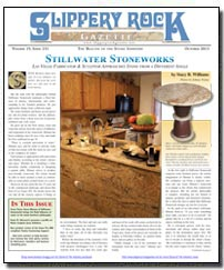 Download the September 2013 issue of Slippery Rock Gazette in PDF format