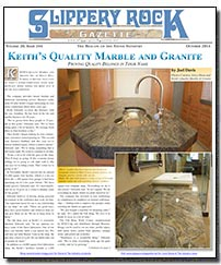 Download the October 2014 issue of Slippery Rock Gazette in PDF format