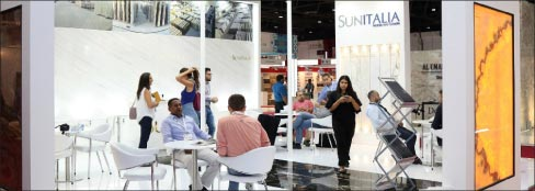 The Middle East Stone Show in Dubai is September 4-6. Show organizers estimate there are currently some $100 Billion in major stone construction  projects ongoing in the MENA (Morocco-Egypt-North Africa) region, from airports to hospitals.
