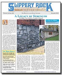 Download the November 2012 issue of Slippery Rock Gazette in PDF format