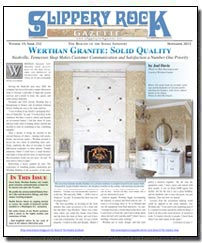Download the November 2013 issue of Slippery Rock Gazette in PDF format