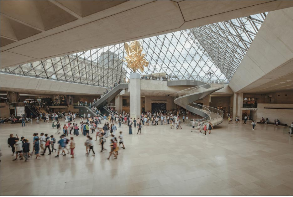From amateurs to connoisseurs, art lovers around the world recognize The Louvre as an art Mecca. While the Louvre's' structure dates back to the late 12th century, it became the museum we know today in 1793. Next time you visit, make sure to look for the Chassagne limestone that helped build this historical gem!