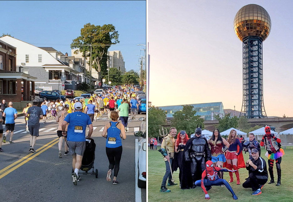 Braxton-Bragg Participates in St. Jude Walk/Run Knoxville