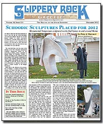 Download the December 2012 issue of Slippery Rock Gazette in PDF format