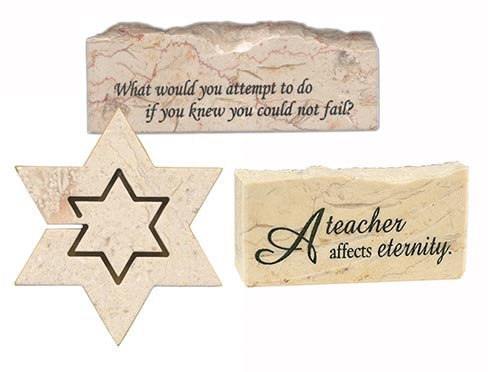 Holy Land Stone offers a wide range of laser-engraved spiritual and inspirational stones. The growth of the company of the popularity of its products has been spurred by the many stories and testimonials of customers.