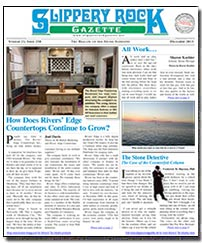 Download the December 2015 issue of Slippery Rock Gazette in PDF format