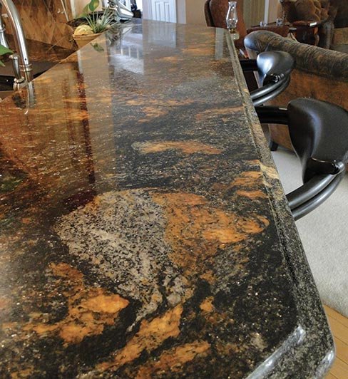 Exotic Stone Countertops : Slippery rock gazette how does rivers edge countertops