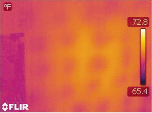 A thermal imaging camera is a great new tool I recently added to my forensic stone investigation kit. Saves time, gives me a non-destructive option – I call it a win-win.  And yes, there's an app for that.