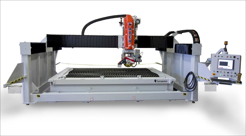The SABERjet CNC saw produces flawless miter cuts allowing for tightly nested, clean, accurate parts.