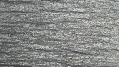 Galaxy schist has an overall shimmer rather than a full-on glittery look. Because the mica pieces are smaller, they are less likely to flake off and cause problems.