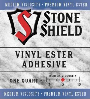 Braxton-Bragg Adds Premium Vinyl Ester to Stone Shield Adhesive Product Line