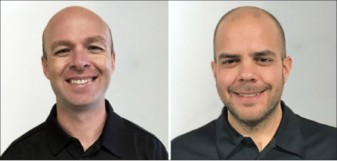 LPI expands its training department with the promotion of Aaron Alexander (left) to corporate training manager, and the addition of Dan Lafser (right).