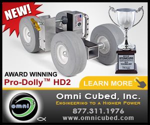 Omni Cubed: high quality, innovative tooling for the stone fabrication industry