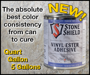 Stone Shield Vinyl Ester Adhesives