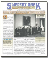 Download the January 2012 issue of SlipperyRock Gazette in PDF format