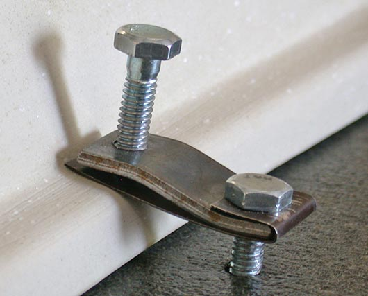 kitchen sink hold down clips slippery rock gazette don t forget the sink 8496