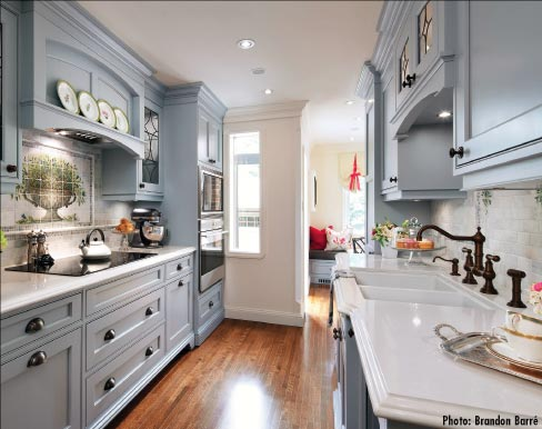 Third Place Medium Kitchen – Jane Lockhart of Jane Lockhart Interior Design I Toronto, ON.