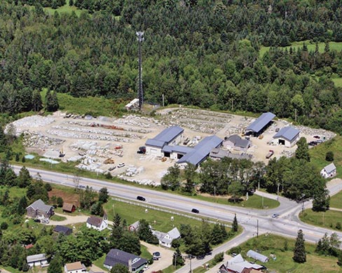Built on 20 acres in Orland, Maine, Freshwater Stone is one of the largest employers and tax payers in the area. It is also one of the most efficient large stone processing facilities in New England, currently employing 47 people.