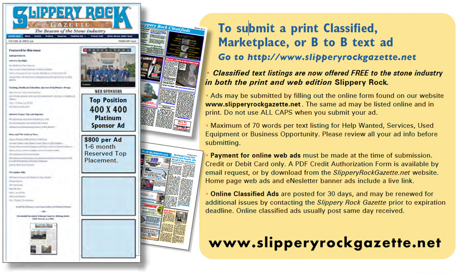 Ad guidelines for print edition classified ads